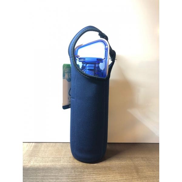 Чехол для генератора водородной воды, термоса или бутылки для воды темно-синий