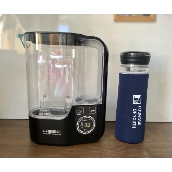 ВМЕСТЕ ДЕШЕВЛЕ! Водородный Кувшин HEBE Pro и обновленный стакан Hebe